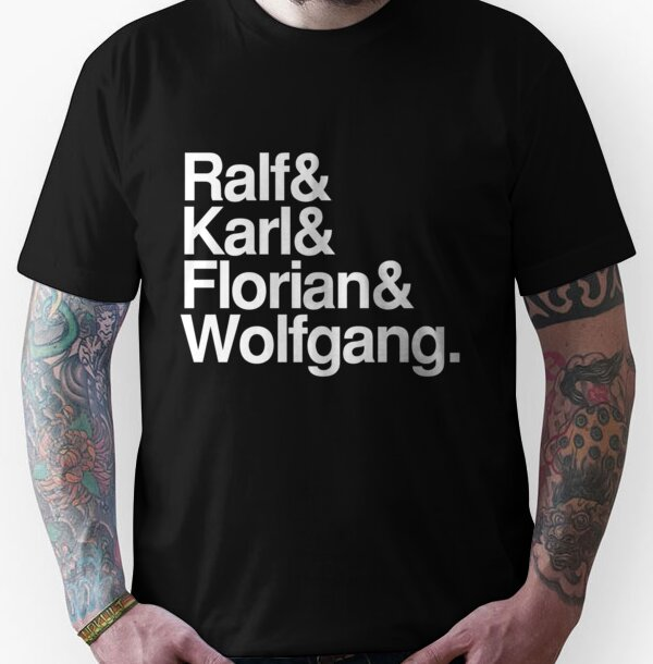Kraftwerk Band Names Unisex T-Shirt
