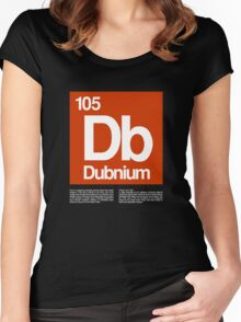 105-Dubnium Women's Fitted Scoop T-Shirt