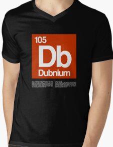 105-Dubnium Mens V-Neck T-Shirt
