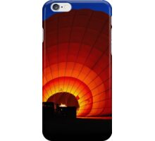 Balloon sunrise iPhone Case/Skin