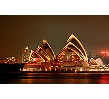 Ovation - The Opera House Goes HDR - Moods of A City #18 - Sydney Australia Photographic Print