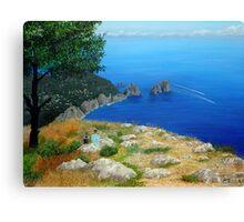 Speedboats Canvas Print