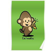 Farm Babies - Eat healthy. Poster