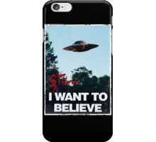 I Still WANT TO BELIEVE iPhone Case/Skin