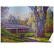 Goulburn Bridge, Seymour  Poster