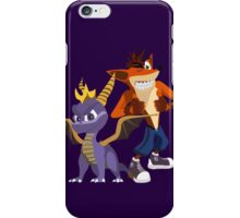 Orange & Purple iPhone Case/Skin