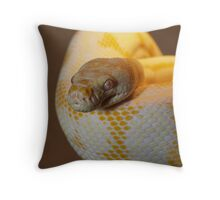 Albino Darwin Carpet Throw Pillow