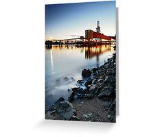 Dock Mirror Greeting Card