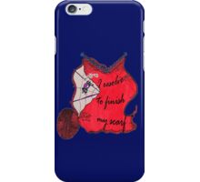 Lav the Spider doubts your resolve iPhone Case/Skin