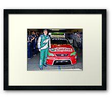 Steve Richards pose Framed Print