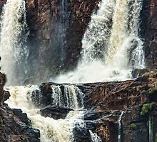 Iguazu Falls - Crashing Water by photograham