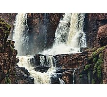 Iguazu Falls - Crashing Water Photographic Print