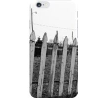On the Fence iPhone Case/Skin