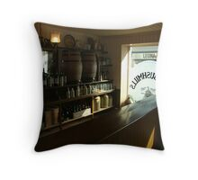 free drinks all around :-) Throw Pillow