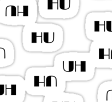 HU Sticker