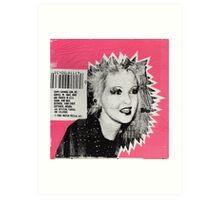 Cyndi Lauper Gum Art Print