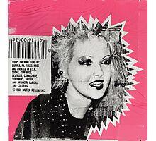 Cyndi Lauper Gum Photographic Print