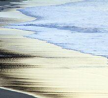 Surfer Walking on Whitesand Bay Beach by Catherine Hunt