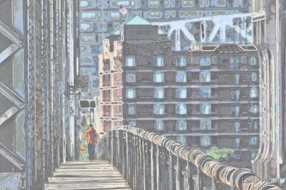 Bridge to Louisville by Leslie  Hagen