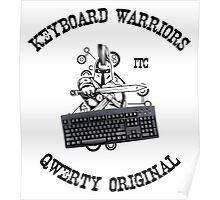 Keyboard Warriors – Internet Troll Club Poster