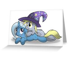 Derpy and Trixie Shirt Greeting Card