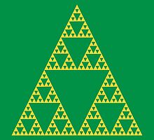 Triforce Fractals by LiRoVi