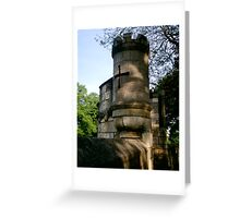 Turrets on York City Walls Greeting Card