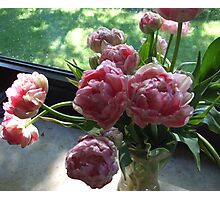 Tulips for mother Photographic Print