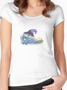 Derpy and Trixie Shirt Women's Fitted Scoop T-Shirt
