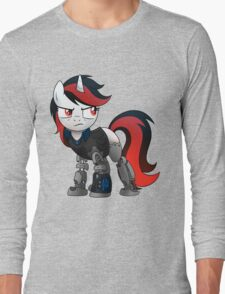 Determined Blackjack T-shirt (from the Project Horizons fanfic) Long Sleeve T-Shirt