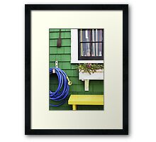 Captain Jack's Wharf - Provincetown Framed Print