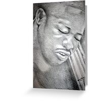 Pure Emotion  Greeting Card