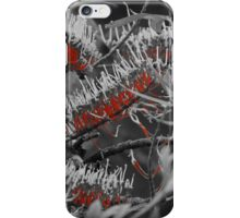 Grevillea in Red iPhone Case/Skin