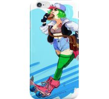 Skate Girl Late to the Function iPhone Case/Skin