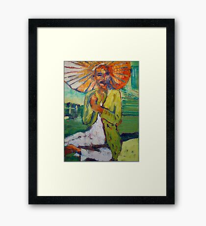 Day in the Park  Framed Print