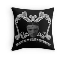 Do you think I'm sick, mother? Throw Pillow