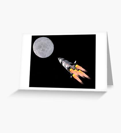 Moon Shot Greeting Card