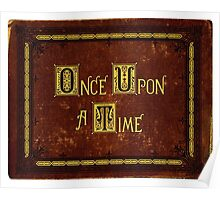 Once Upon A Time, Book Poster