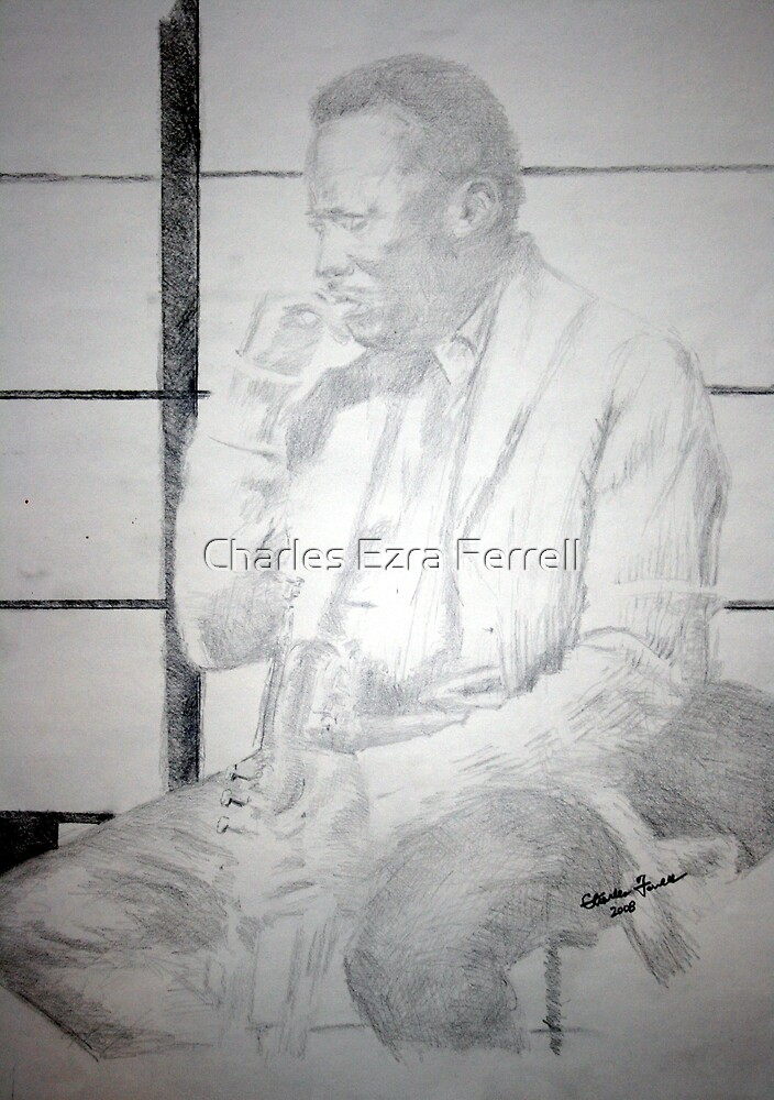 Miles Davis - Thinking Ahead by Charles Ezra Ferrell