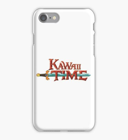 Kawaii Time iPhone Case/Skin