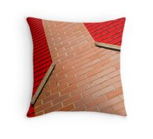 Chimney Red Throw Pillow