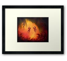 Mystical forest Fairy fantasy Framed Print