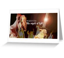 Angels of Light Greeting Card