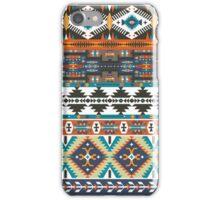 Navajo seamless colorful tribal pattern iPhone Case/Skin
