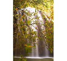elinjaa falls fnq Photographic Print