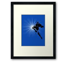 The Knee of Justice Framed Print