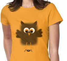 Owl-rachnophobia Womens Fitted T-Shirt