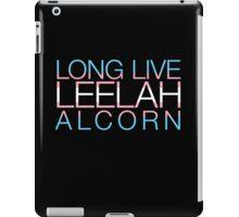 Long Live Leelah Alcorn iPad Case/Skin