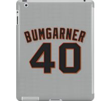Madison Bumgarner Jersey iPad Case/Skin