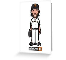 MadBum 40 Greeting Card